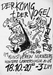 Poster - Der König und der Vogel - Kunstverein