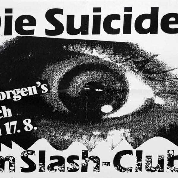 Poster - Die Suicides - Slash Club