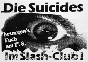 Poster - Die Suicides - Slash Club