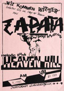 Poster - Heaven Hill - Zapata