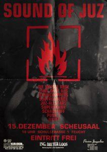 Poster - Superskank - Die Weisse Rose - Ende ohne Aus - Schadstoff - Punk.t - JuZ Feucht - 1998