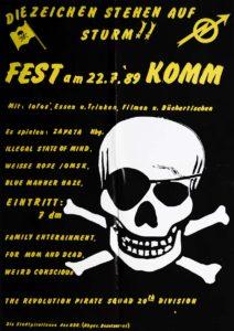 Poster Die Weisse Rose - Komm - 1989 - FrankenPunk