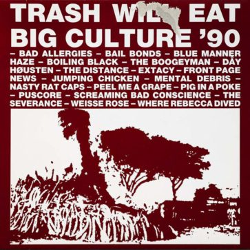 VA - Trash Will Eat Big Culture `90 - Album - FrankenPunk
