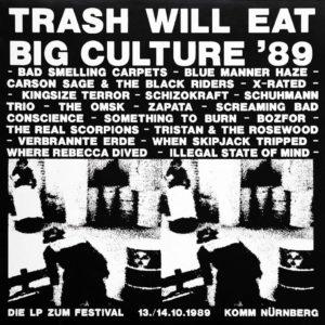 VA - Trash Will Eat Big Culture `89 - Album - FrankenPunk