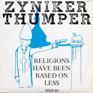 Thumper - Religions Have Been Based On Less - Split EP - FrankenPunk