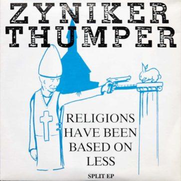 Thumper - Religions Have Been Based On Less - Split EP - FrankenPunk