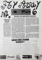 Fanzine - Fly Away - Ausgabe 6 - FrankenPunk