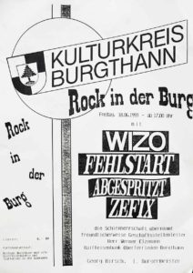 Poster - Festival - Fehlstart - 1993 - FrankenPunk