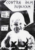 Contra Rem Publicam - Ausgabe 1 - Seite 1 - Fanzine - 1987 - FrankenPunk