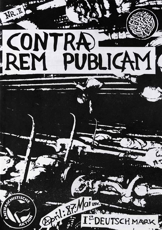 Contra Rem Publicam - Ausgabe 2 - Seite 01 - Fanzine - 1987 - FrankenPunk