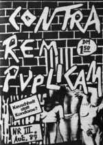 Contra Rem Publicam - Ausgabe 3 - Seite 01 - Fanzine - 1987 - FrankenPunk
