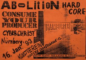 Flyer - Consume Your Producer - Kunstverein - 1993 - FrankenPunk