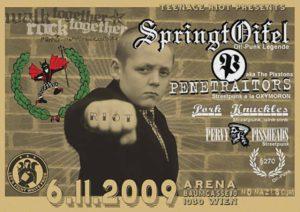 Flyer - Penetrators - Wien - 2009 - FrankenPunk
