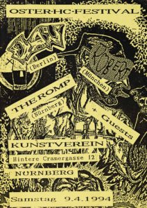 Flyer - The Romp - Kunstverein - 1994 - FrankenPunk
