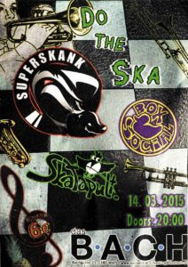 Flyer - Superskank - Wien - 2015 - FrankenPunk