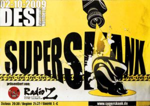 Flyer - Superskank - Desi - 2009 - FrankenPunk