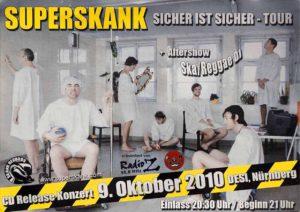 Flyer - Superskank - Desi - 2010 - FrankenPunk