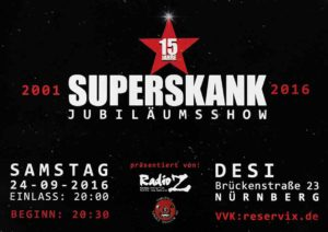 Flyer - Superskank - Desi - 2016 - FrankenPunk