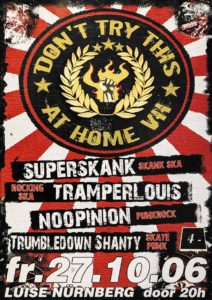 Flyer - Superskank - Luise - 2006 - FrankenPunk