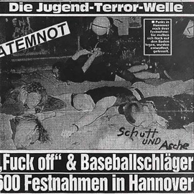 Atemnot - Schutt und Asche - EP
