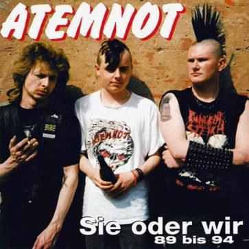 Atemnot - Sie oder wir 89 bis 94 - Album