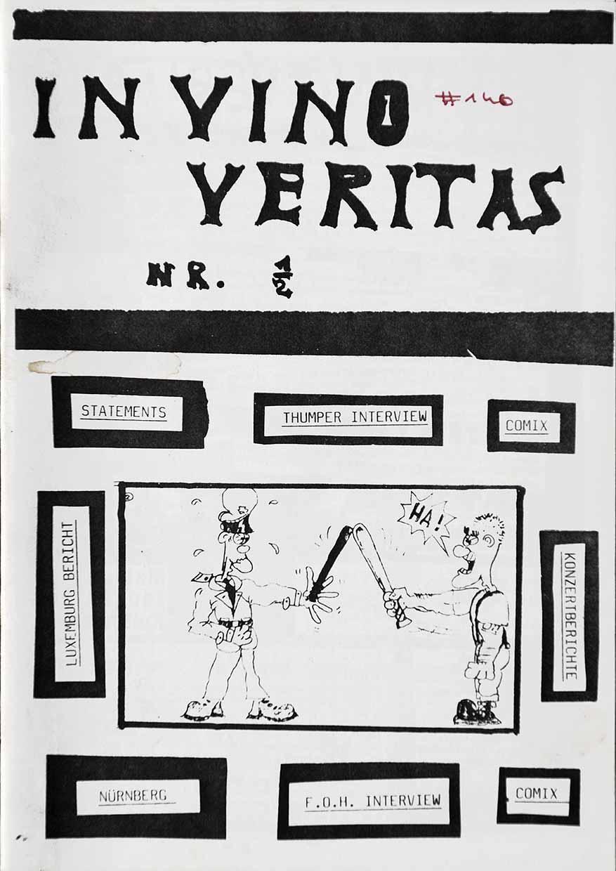 In Vino Veritas - Ausgabe 1 - Seite 01 - Fanzine