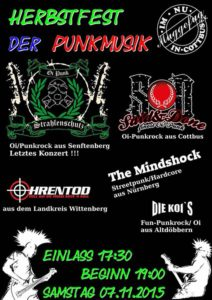 Mindshock - Punkfest - Cottbus - 2015