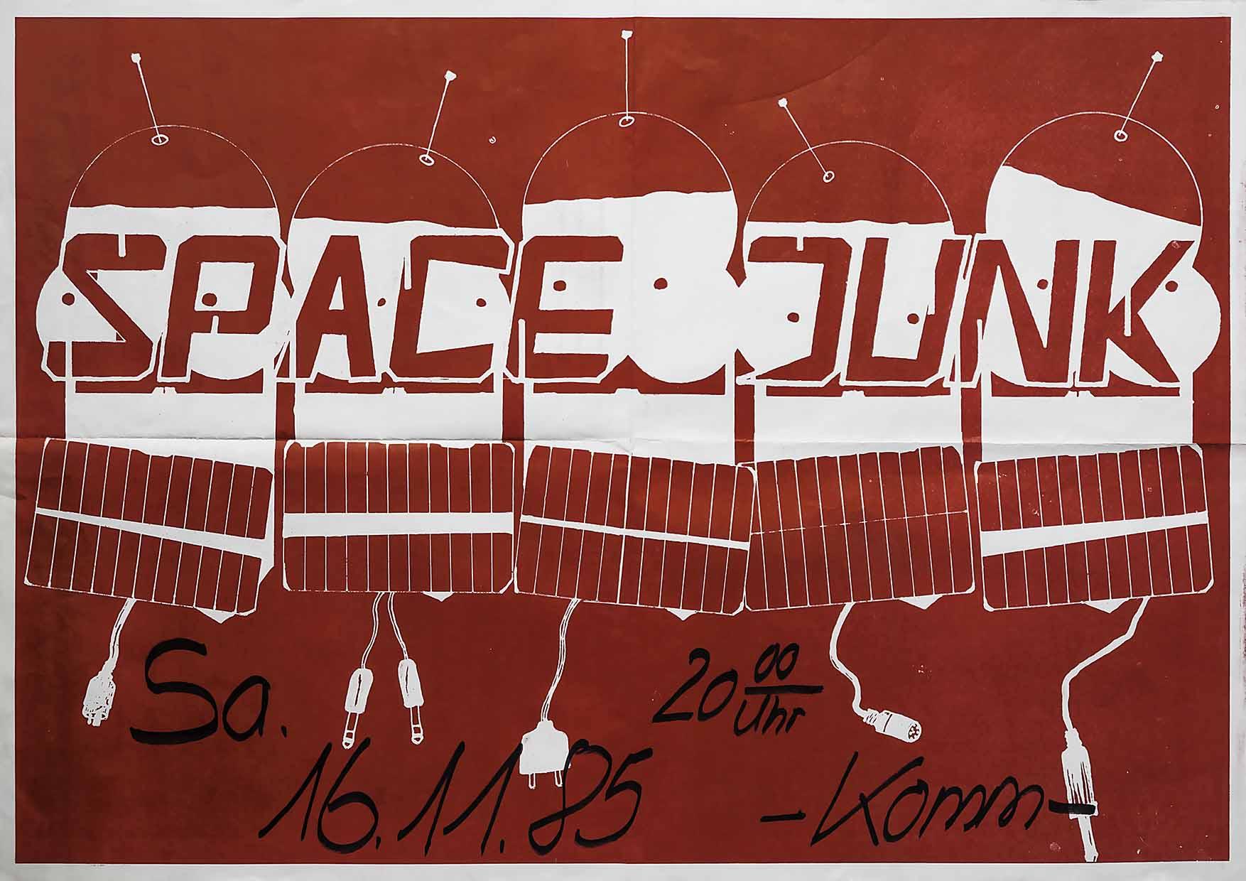 Poster - Space Junk - Komm - 1985