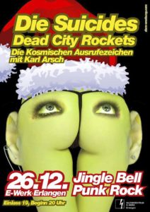Poster - Suicides - Dead City Rockets - E-Werk