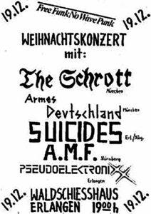 Poster - Suicides - Waldschiesshaus - 1980