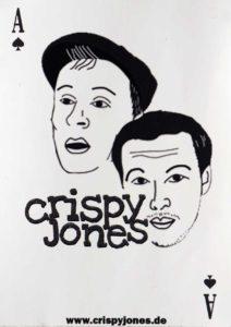 Sticker - Crispy Jones