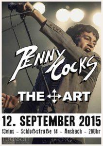 Flyer - The Art - 13eins - 2015
