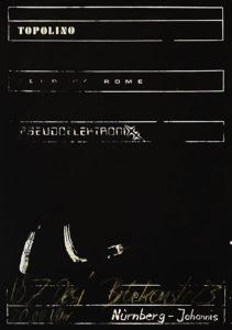 Poster - Pseudo Elektronixx -Desi - 1982