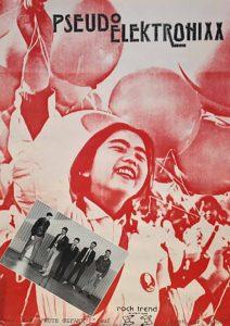 Poster - Pseudo Elektronixx - Rote Gefahr - 1983