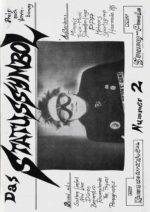 Statussymbol - Ausgabe 02 - Seite 01 - Fanzine