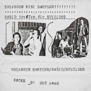 VA - Erlangen Mini Sampler - Rabid treffen auf die Suicides
