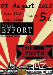 Flyer - 9-11 Youth - Burglengenfeld - 2015