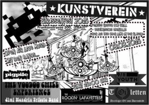 Flyer - 9-11 Youth - Kunstverein Strassenfest - 2015