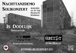 Flyer - 9-11 Youth - Projekt 31 - 2015