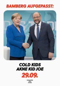 Flyer - Akne Kid Joe - Bamberg - 2017