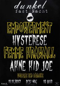 Flyer - Akne Kid Joe - Desi - 2017