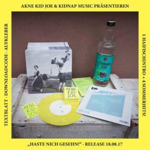 Flyer - Akne Kid Joe - EP Release - 2017