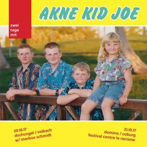 Flyer - Akne Kid Joe - Volkach + Coburg - 2017