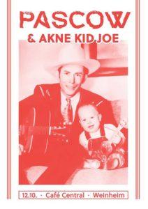 Flyer - Akne Kid Joe - Weinheim - 2017