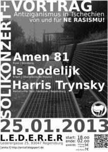Flyer - Amen 81 - Is Dodelijk - Regensburg - 2013