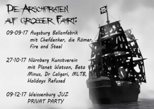 Flyer - Arschpiraten - 2017