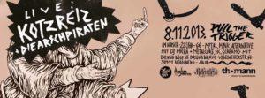 Flyer - Arschpiraten - Hirsch - 2013
