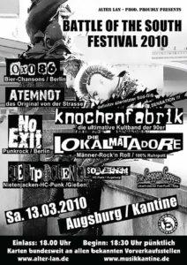 Flyer - Atemnot - Augsburg - 2010