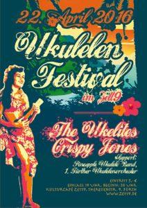 Flyer - Crispy Jones - Ukulelen Festival - 2016