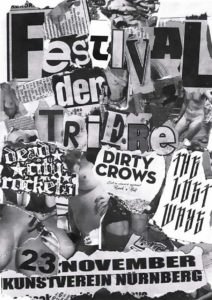 Flyer - Dead City Rockets - Kunstverein - 2014